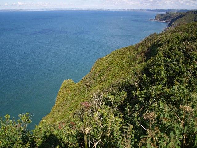 Exmansworthy Cliff