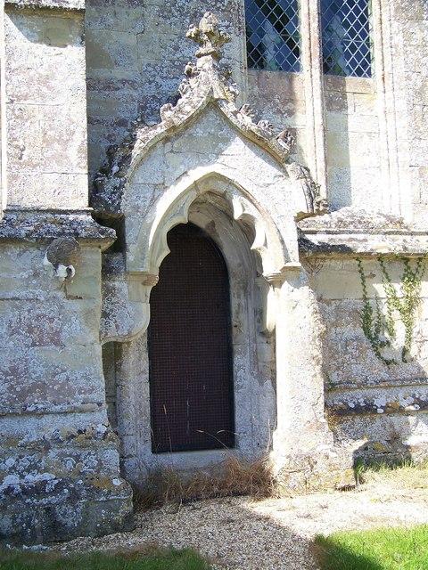 St John the Baptist Church - Door