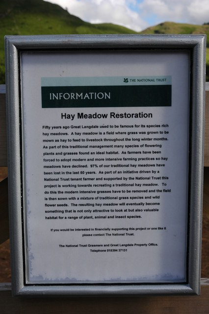 Hay Meadow Restoration