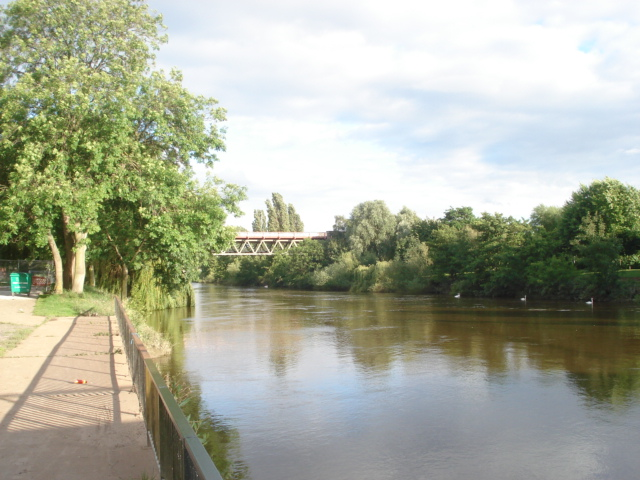 River Severn near the Worcester Rowing Club