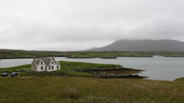 Island cottage.