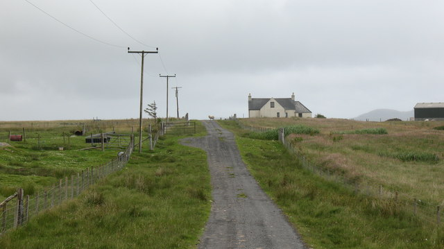 Road to Aird Mhor