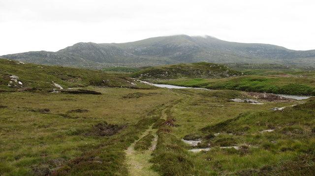 Path to Loch Sgiopoirt
