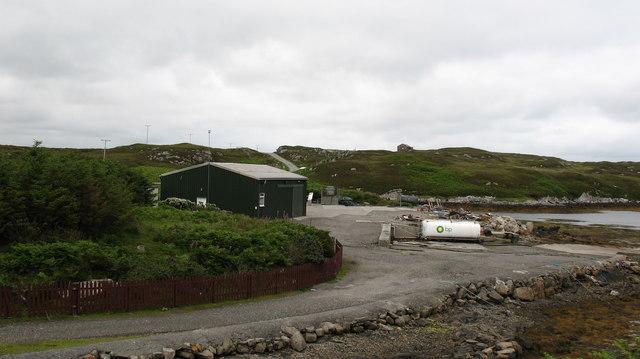 Fish Farm buildings.