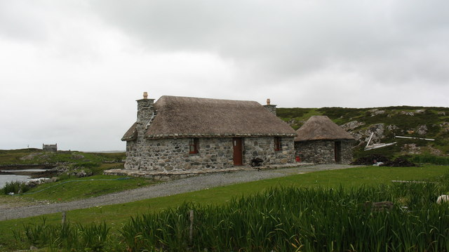 Restored cottage at Rubha Ghaisinis