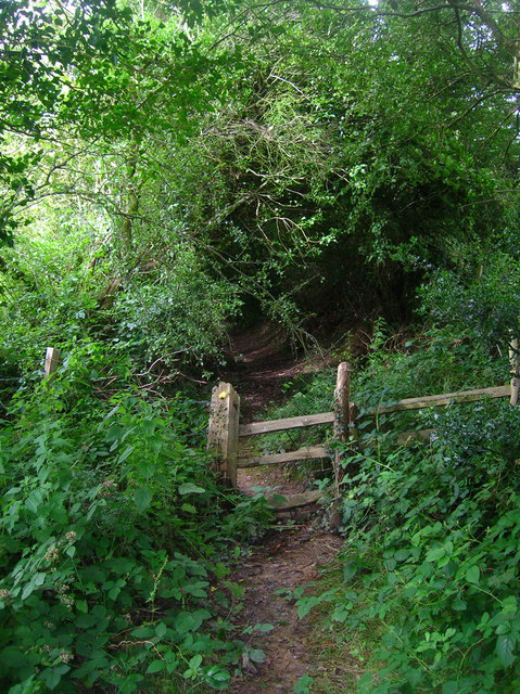 Collapsing Stile near Greenwoods Farm