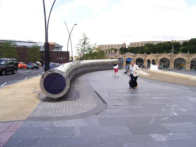 Water  Feature of Station