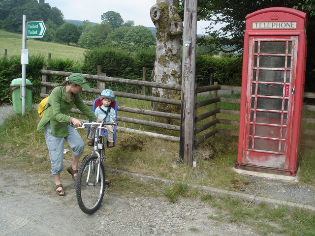 Phone box, just within SN8653