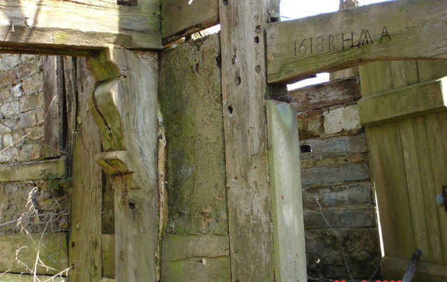 A derelict  farm