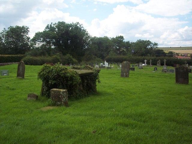 All Saints Church, Rudston - Churchyard