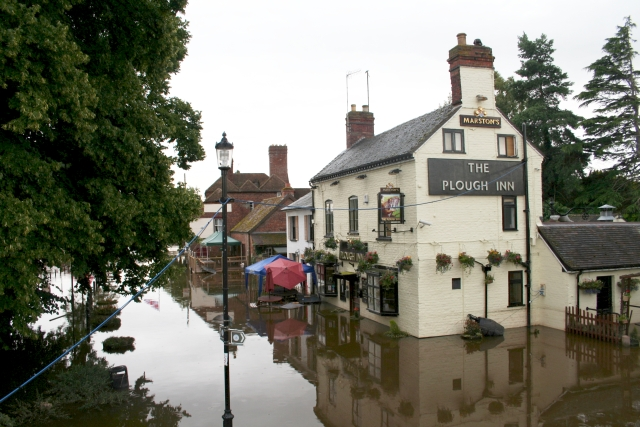 The Plough - Flooded
