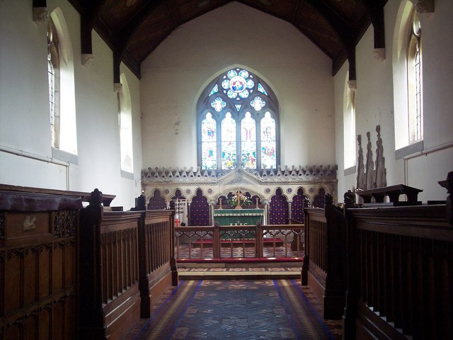 All Saints Church, Rudston - Interior