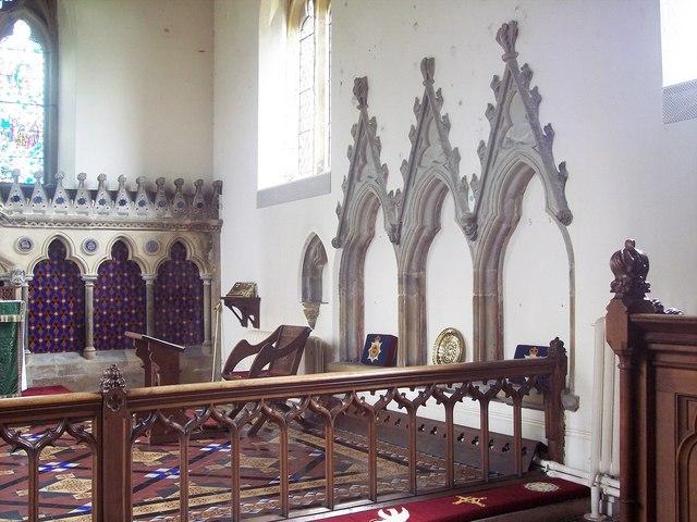All Saints Church, Rudston - Interior
