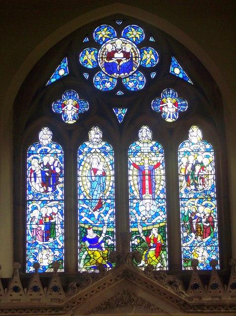 All Saints Church, Rudston - East Window