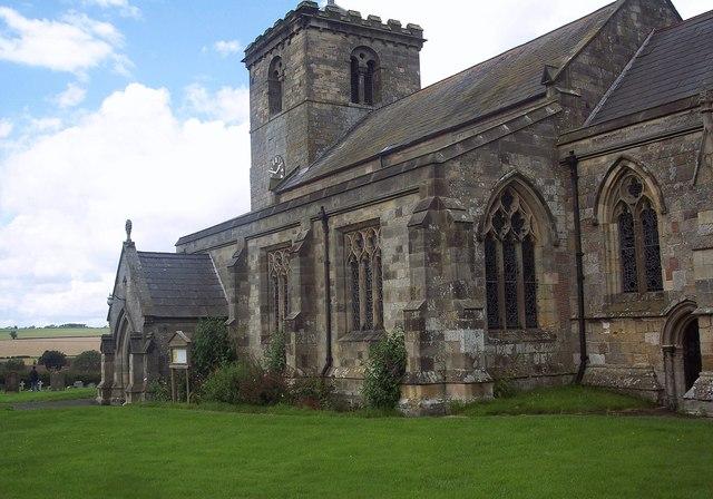 All Saints Church, Rudston