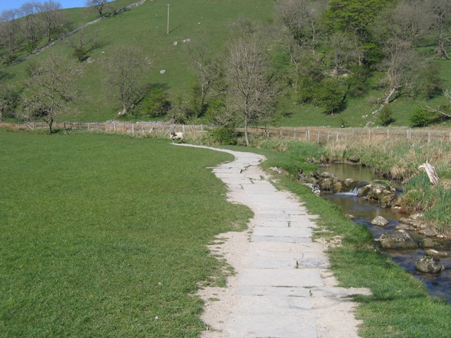 Paved Footpath to Janet's Foss