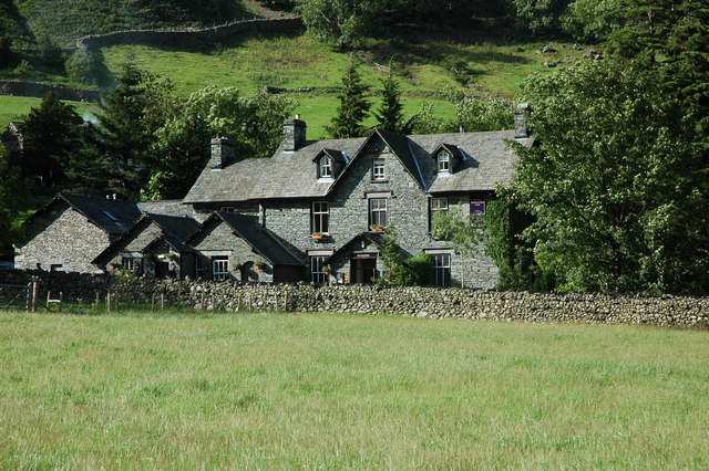 The New Dungeon Ghyll Hotel, Great Langdale