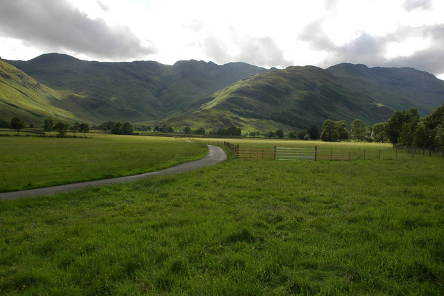 Driveway to Stool End, Great Langdale