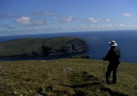 Looking South over Berneray (Barra Head)