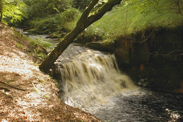 Waterfall on River Roddlesworth