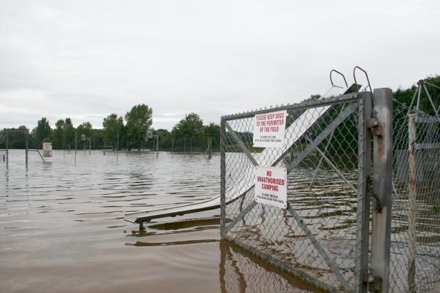 Recreation Ground Under Flood, Upton-upon-Severn