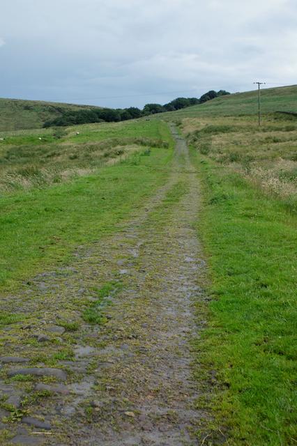 Track to Darwen Moor