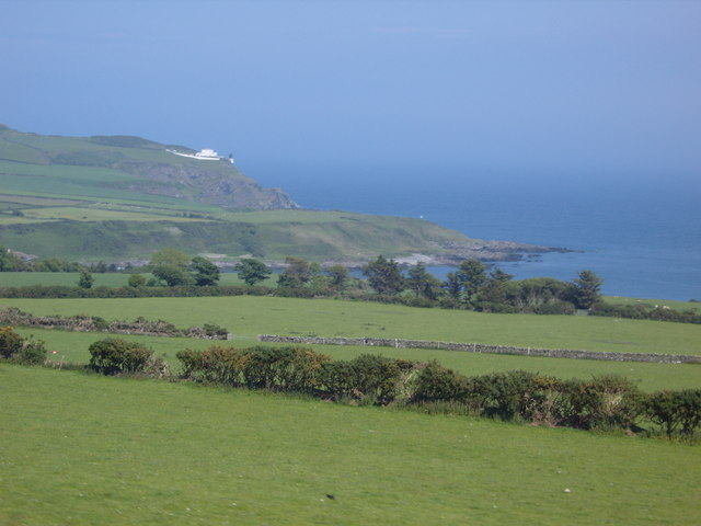 View from the Manx Railway across to Booilushag