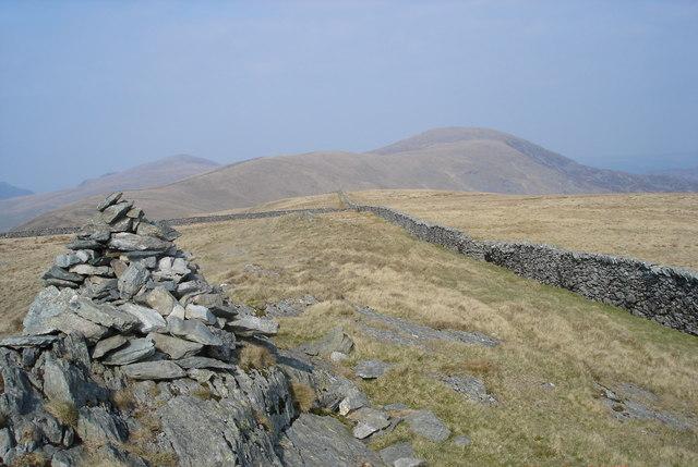 Diffwys Ridge