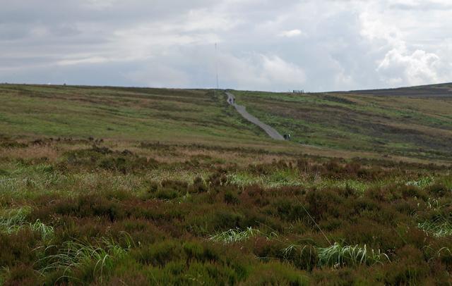 Track on Darwen Moor