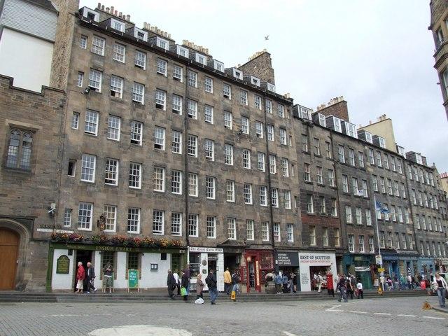 Shops at the Royal Mile, Edinburgh