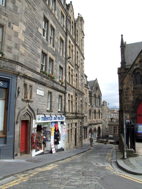 Upper Bow, Edinburgh
