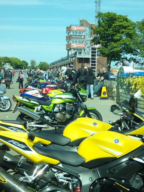 TT Grandstand in Full Colour for the Centenary