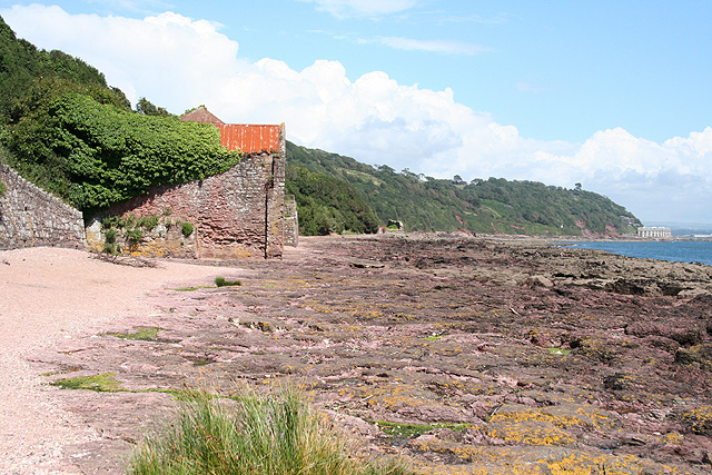Maker with Rame: pilchard cellar near Kingsand