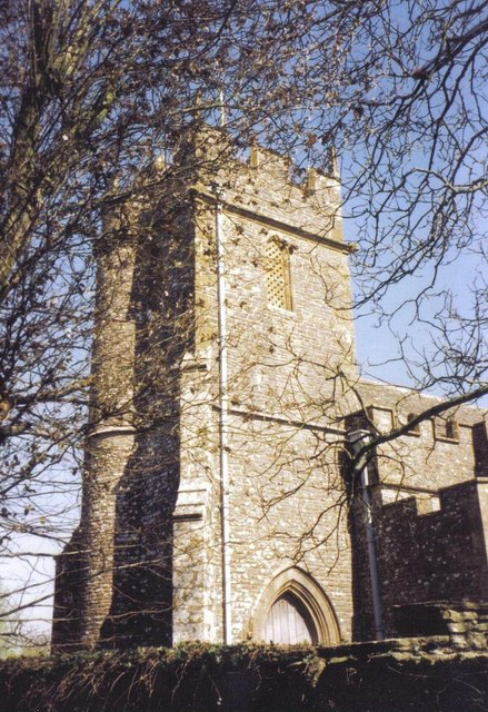Folke parish church: tower
