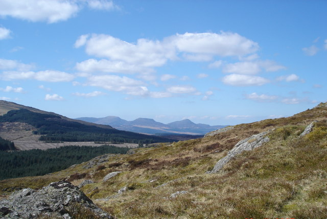 The Rhinogs from Dduallt