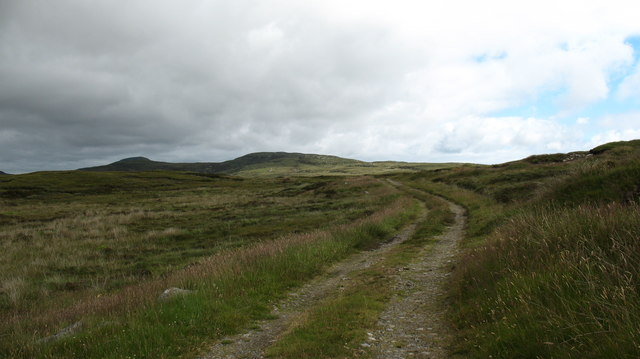 Moorland track, South Uist