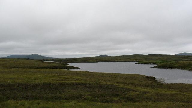 Loch na Garbh - abhainn Ard