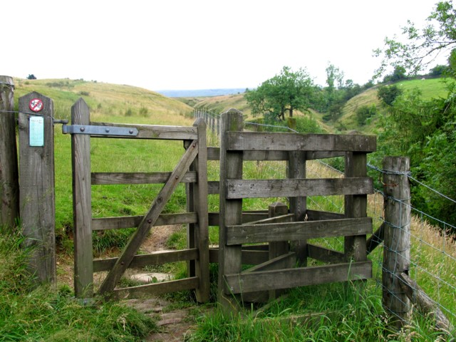 Concessionary Footpath to Pendle Hill