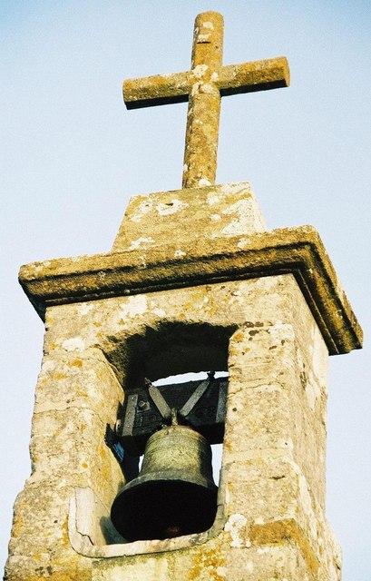 Frome Vauchurch church: bellcote detail