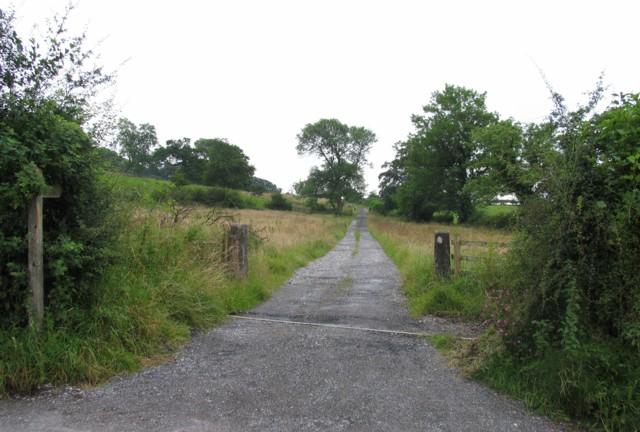 Track to Gerna