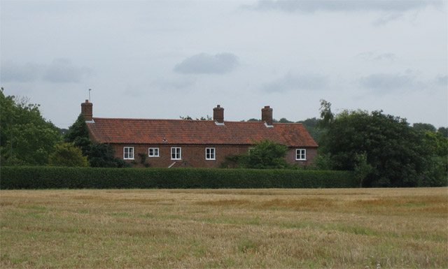 Hall Farm on Matlaske - Aldborough Road