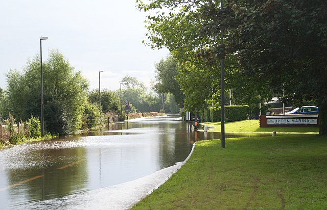 Ryall Road, Upton - Flooded