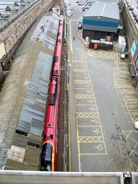 Railway Station, Edinburgh