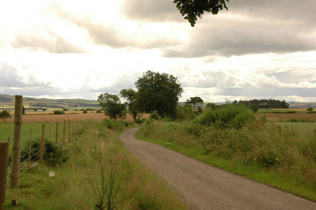 Road near Shandwick House