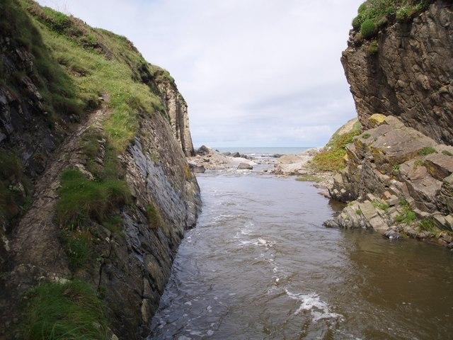 Abbey River canyon