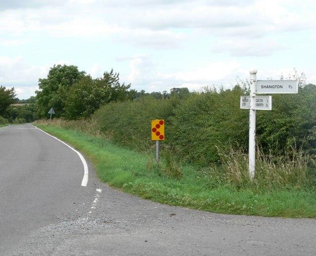 Kibworth Road junction