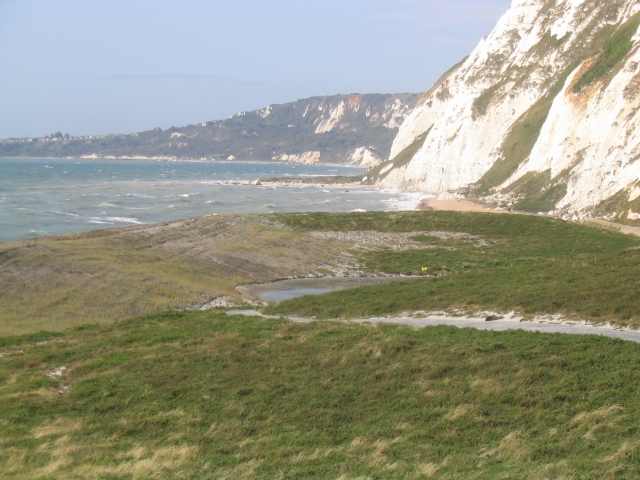 Samphire Hoe looking west