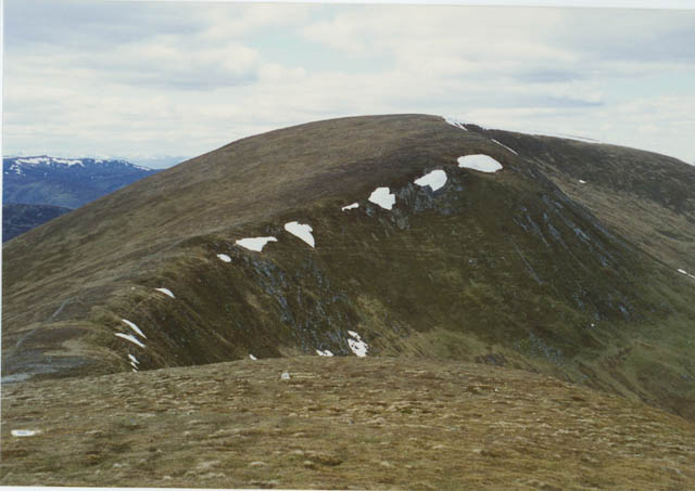 View towards Meall a' Choire Leith