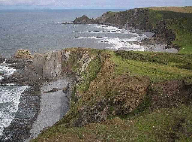 Coast north of the Warren
