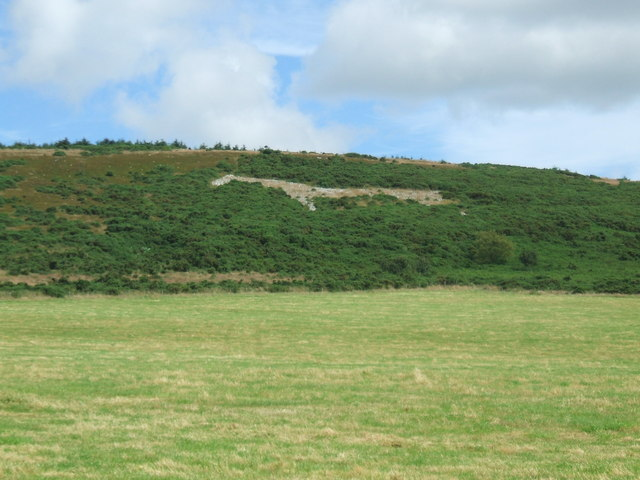Approach to Mormond White Horse